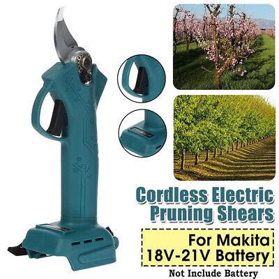 30mm Electric Cordless Pruning Shears Scissor Cutter Pruner For Makita 18V-21V
