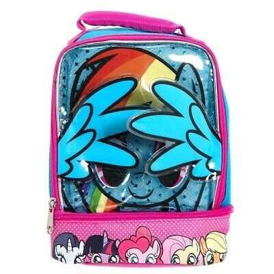 My Little Pony Soft Tote Lunch Box Insulated 3D Rainbow -