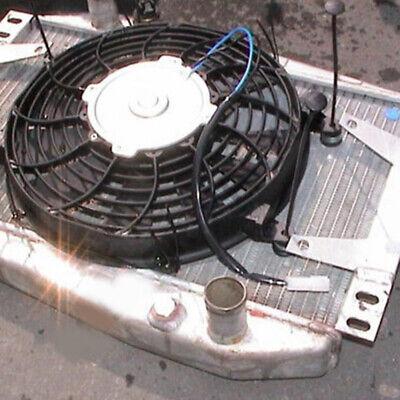 Universal Car Electric Radiator Cooling Cooler Fan Mount Fitting Kit Slim Line