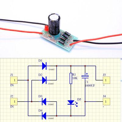 Ac-dc Converter 61224v To 12v Full-bridge Rectifier Filter Power Supply Module