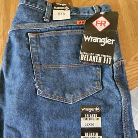 Heavy duty fire resistant Jeans