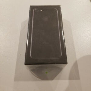 iPhone 7 Jet Black 128GB, Brand New In Sealed Box