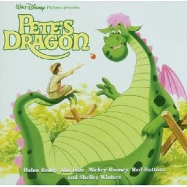 PETE\'S DRAGON (ELLIOT DAS SCHMUNZELMONSTER) CD SOUNDTRACK/FILMMUSIK NEU