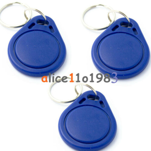 2/5/10/50/100x Rfid Sensor Proximity Ic Key Tag Keyfob Keychain Card 13.56mhz