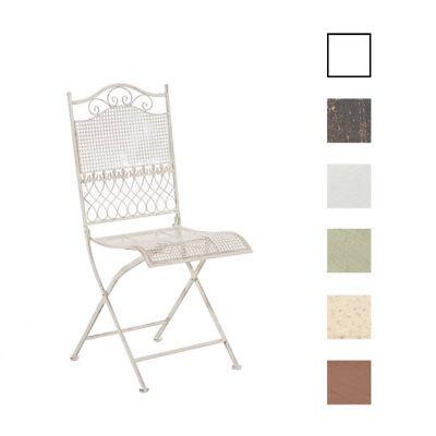 Klappstuhl Kiran Gartenstuhl Metallstuhl Stuhl Terrassenstuhl Vintage