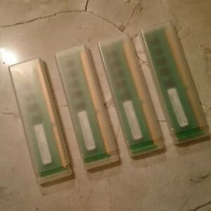 RAM - DDR3 type - 4GB (4 x 1GB sticks), Hewlett Packard Brand
