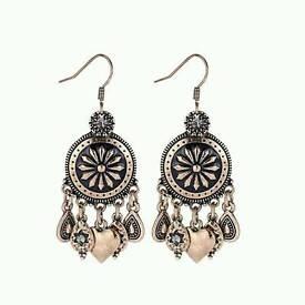 New bronze earrings