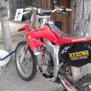 2004 CRF 450r trade for a 250 twostroke