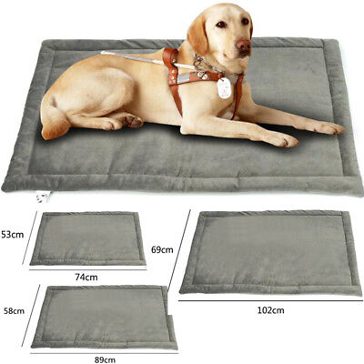 Deluxe Soft Pet Crate - US Orthopedic Dog Bed Pet Lounger Deluxe Cushion Crate Foam Soft  For Large Dog