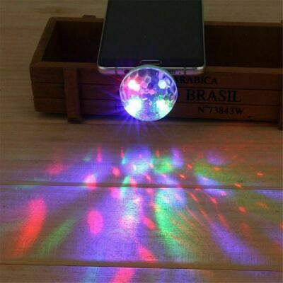 Mini USB Disco Ball Party Light DJ Strobe Lamp Club Lights Christmas Party Decor](Mini Disco Ball)