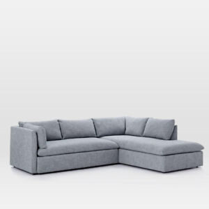 New west elm  Shelter Sectional Set 1 LA Sofa/RA Terminal Chaise