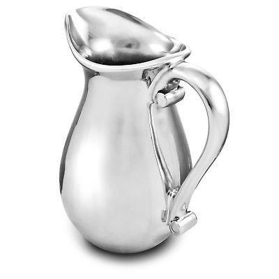Cowboy Boot 2-Quart Beverage Pitcher Western Style Aluminum by Wilton Armetale