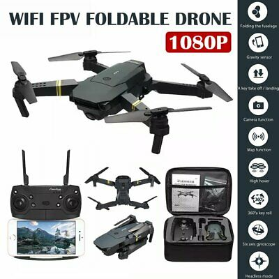 E58 Drone X Pro 2MP HD Camera Wifi APP FPV Foldable Wide-Angle RC Quadcopter US