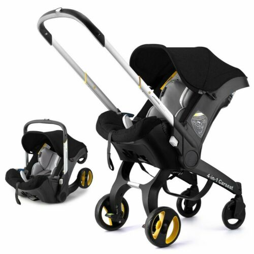 NEW 4 in1 Newborn Baby Stroller Infant Car Seat Light Weight Foldable Carriage