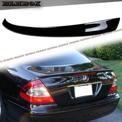 #PAINTED For 03-09 BENZ W211 E-Class Sedan A Style ABS Add-On Trunk Spoiler Lip, used for sale  Shipping to Canada