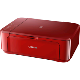 Canon Printer, Scanner (Red)