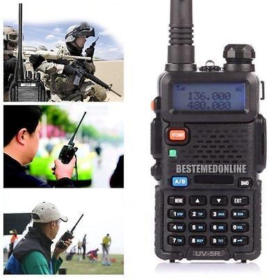 2016 BAOFENG UV-5R Dual Band VHF/UHF Two Way Ham Radio Transceiver Walkie Talkie on Rummage