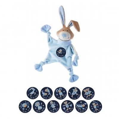 Sigikid Sternzeichen Schnuffeltuch Hase blau Schmusetuch Variante wählbar *8499