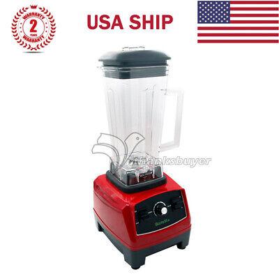 2l 2200w Commercial Blender Mixer Juicer Food Ice Smoothie Bar Fruit Blender Us