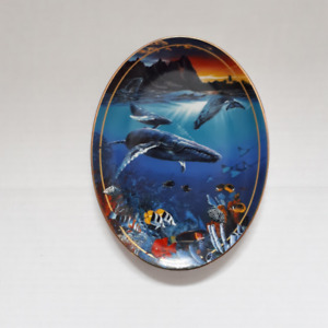 Hawaii Sea Passage - COLLECTOR PLATE BY CHRISTIAN LASSEN