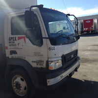 Truck and Job contract/ Camion avec contrat $20,000 NEGO