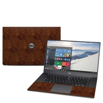 Dark Burlwood Decal Sticker Skin for Dell XPS 15 9550 9560 Laptop
