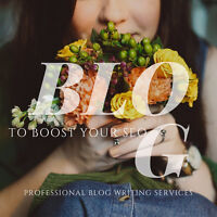Professional Blog Writing Packages Starting at $399/mo