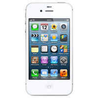 Apple iPhone 4 White 8GB in Excellent Condition (Telus/Koodo)