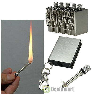 Lot5pcs Survival Emergency Camping Fire Starter Flint Metal Match Lighter Hiking