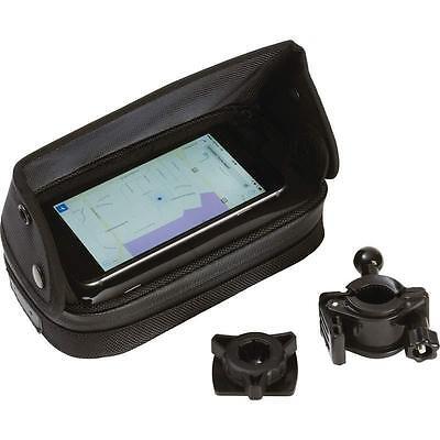 Diamond Plate™ Adjustable, Waterproof Motorcycle/Bicycle GPS/Smartphone Mount