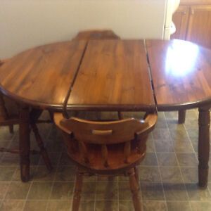 Moving sale: table/desk/weights/concrete counter/stools