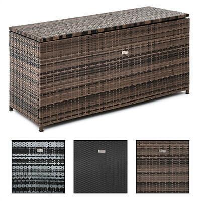 Auflagenbox Kunststoff Truhe Box Kissenbox 100kg Gerätetruhe Kiste Gartentruhe
