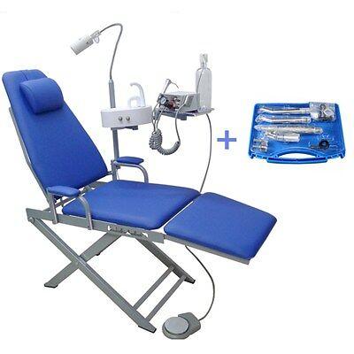 Dental Mobile Chair Unit Turbine Unit 4h Led Lamp Nsk Handpiece Kit 4h