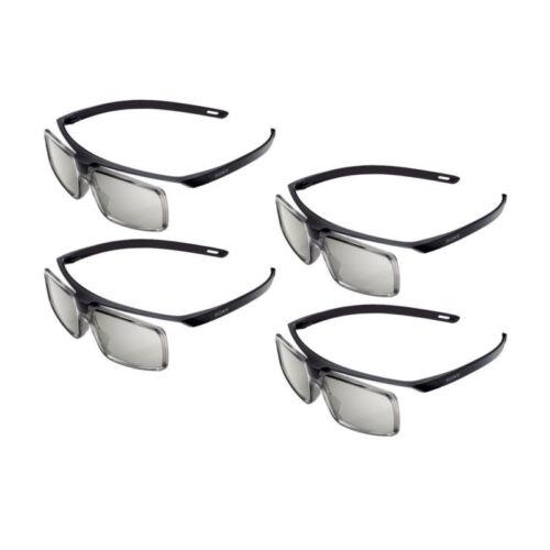 Pack of 4 Genuine TDG-500P Passive 3D Glasses TGD500P for So