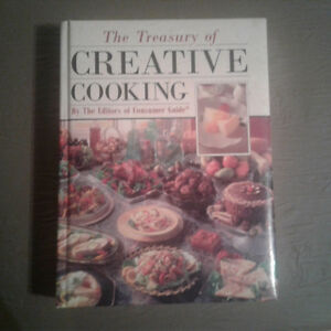 Creative Cooking Hardcover Cookbook