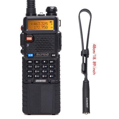 Baofeng UV-5R Real 8W 3800mAh Dual Band Two Way Radio & 18.89'' Tactical Antenna