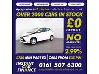 Toyota Aygo Vvt-I X-Pression 1.0 Manual Petrol GOOD / BAD CREDIT CAR FINANCE