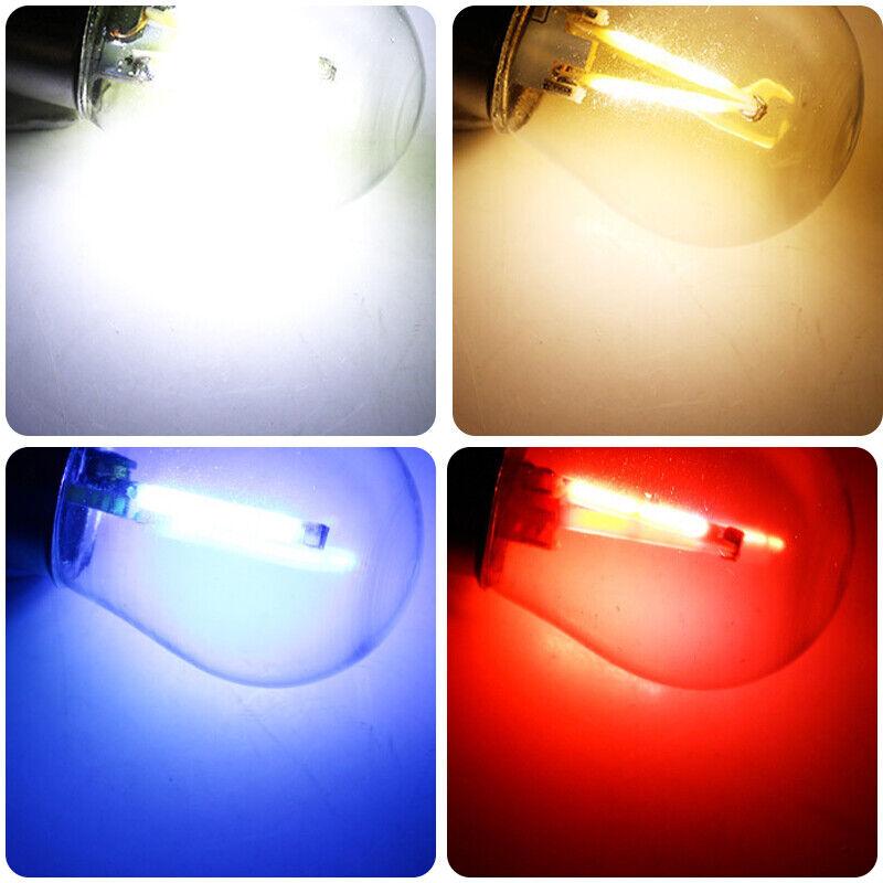 4x 1156 BA15S 382 12V 10W LED Bremslicht Rückleuchte Lampe Blinker Birne Licht