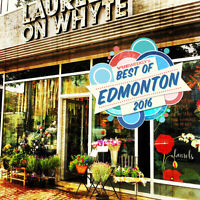 Seeking P/T experienced Florist for busy Whyte Ave Shop!