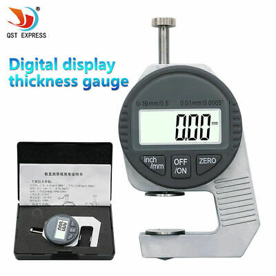 Portable Electronic Dial Indicator Thickness Mini 0.01mm Digital Thickness Gauge