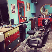 Rent or commission Hair stylist wanted
