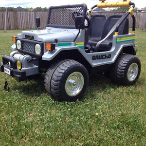 Peg Perego Gaucho 12 Volt Ride on jeep - Not running