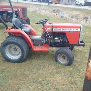 MF 1010 Diesel compact tractor