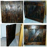 Barn Door Style Gates. Wood. $100.oo