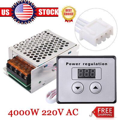 4000w Ac 110v 120v Scr Voltage Regulator Motor Speed Control Semiconductor Om