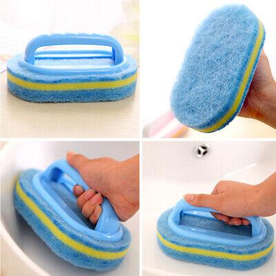 Home Cleaning Sponge Kitchen Bathtub Ceramic Tile Cleaning Brush Sponge Brush Cleaning Ceramic Tile