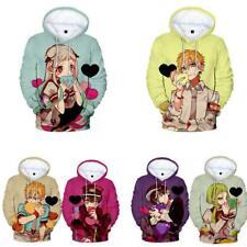 Women Men Toilet Bound Hanako kun Anime 3D Print Hoodie Sweatshirt Pullover Tops