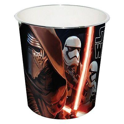 Disney Star Wars VII Papierkorb Eimer Mülleimer Abfalleimer Kylo Ren Stormtroope