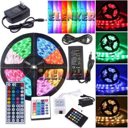 5M 10M 20M 3528 5050 5630 SMD 300LEDs RGB White LED Strip Li
