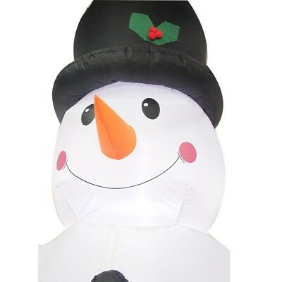Ingenious Christmas inflatable decoration for outdoor snowman 2.4M big